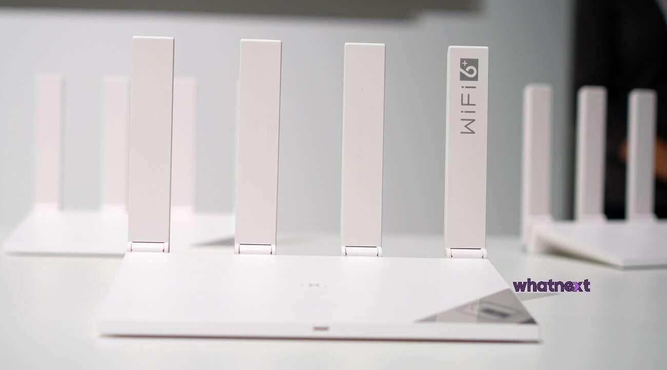Huawei router z Wi-Fi 6+
