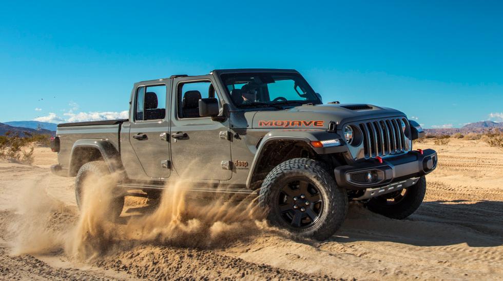 Jeep Gladiator Mojave, Gladiator Mojave, Gladiator na pustynie, nowy Gladiator