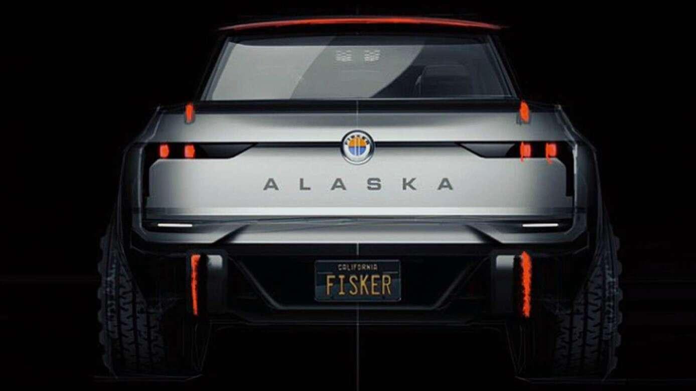 Kolejny elektryczny pickup do kolekcji, czyli Alaska od Fisker