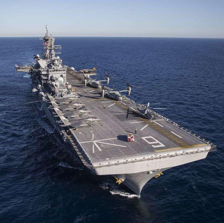 lekkie lotniskowce marynarki wojennej USA
