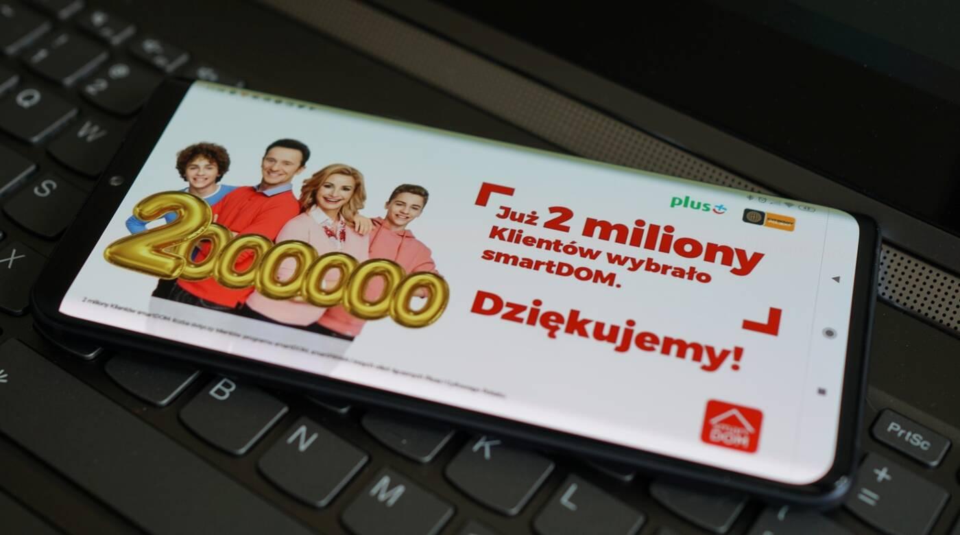 Plus program smartDOM 2 mln klientów