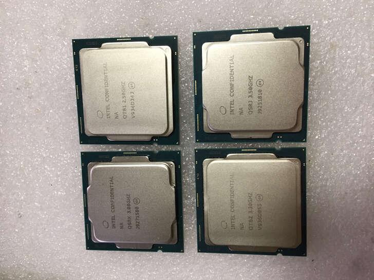 Intel 10. generacja, Intel Comet Lake-S