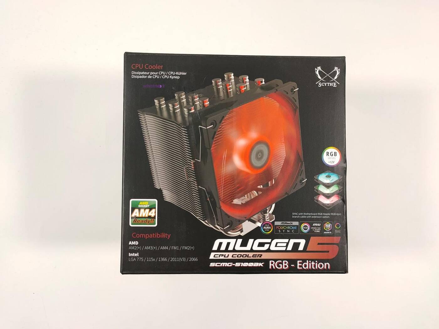 test Scythe Mugen 5 Black RGB Edition, recenzja Scythe Mugen 5 Black RGB Edition, review Scythe Mugen 5 Black RGB Edition, opinia Scythe Mugen 5 Black RGB Edition