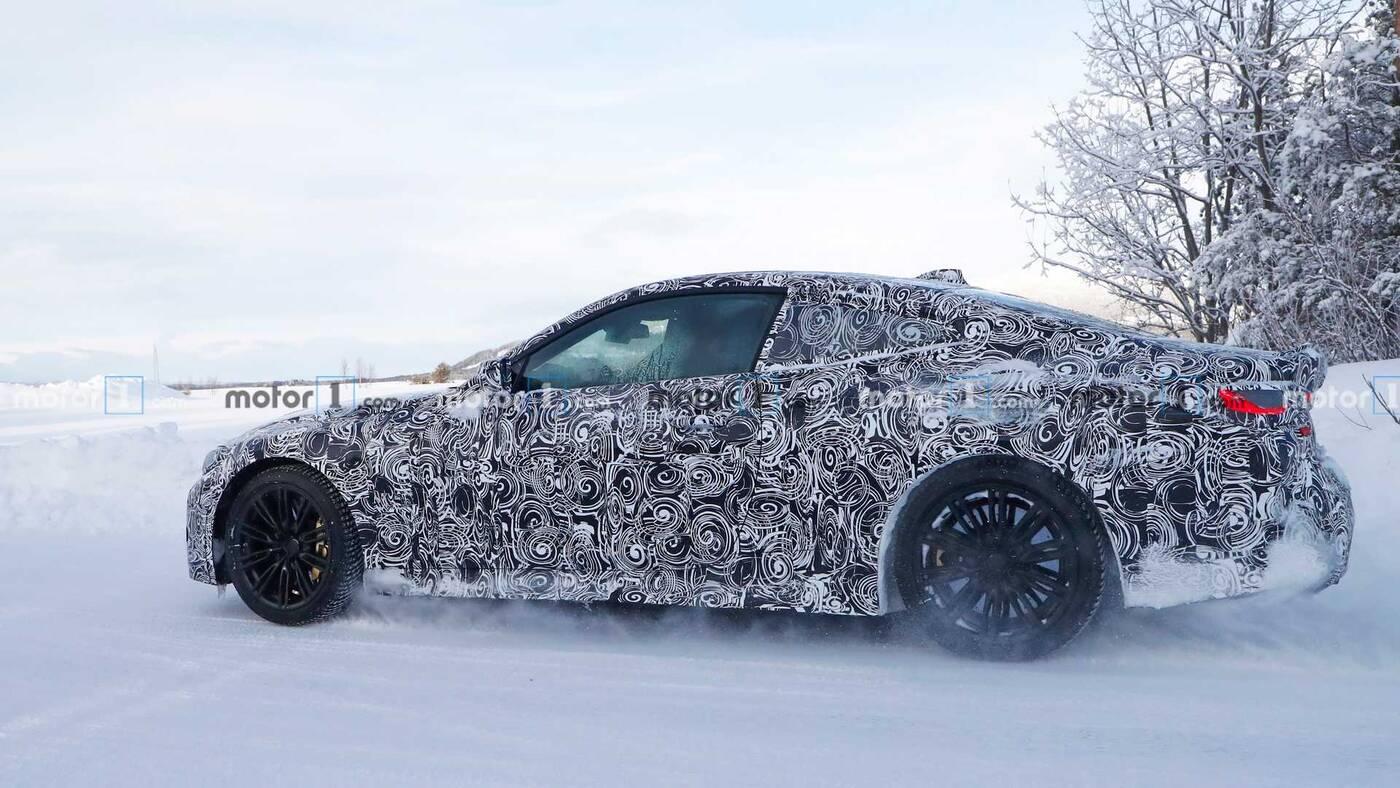 BMW M4 Coupe, nowe BMW M4, zakamuflowane BMW M4, M4 2020