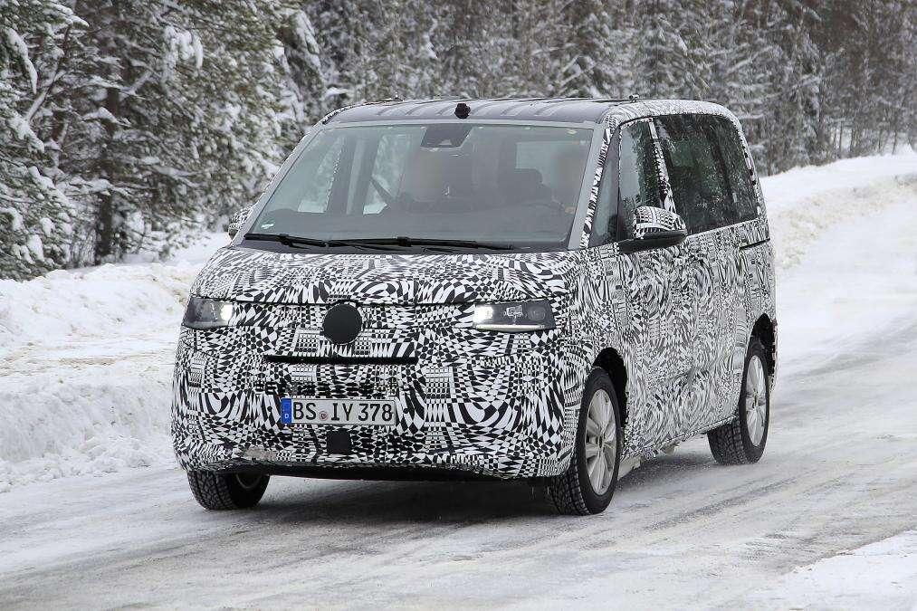 zwiastun Volkswagen T7 Multivan