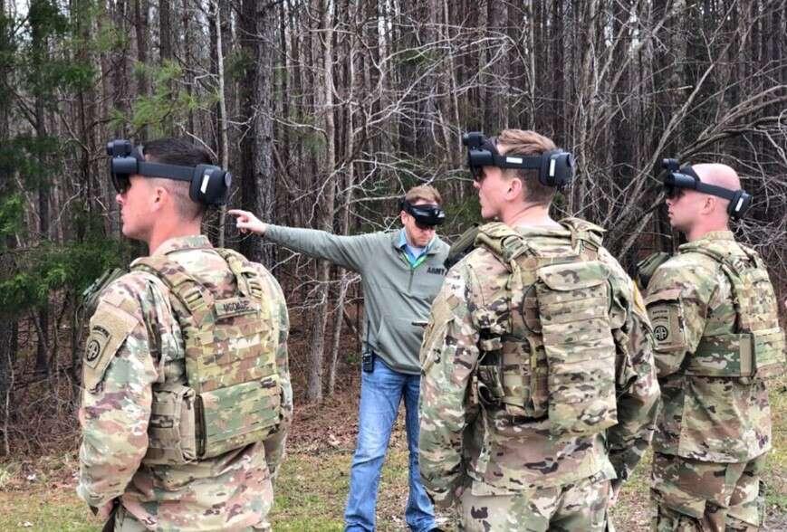 Wojsko USA, gogle IVAS, IVAS, mieszana rzeczywistość na froncie