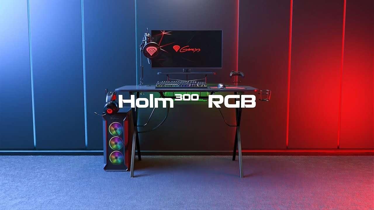 Testujemy biurko dla graczy Genesis Holm 300 RGB
