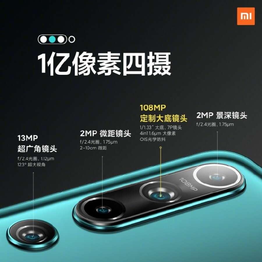 Xiaomi Mi 10 premiera specyfikacja cena