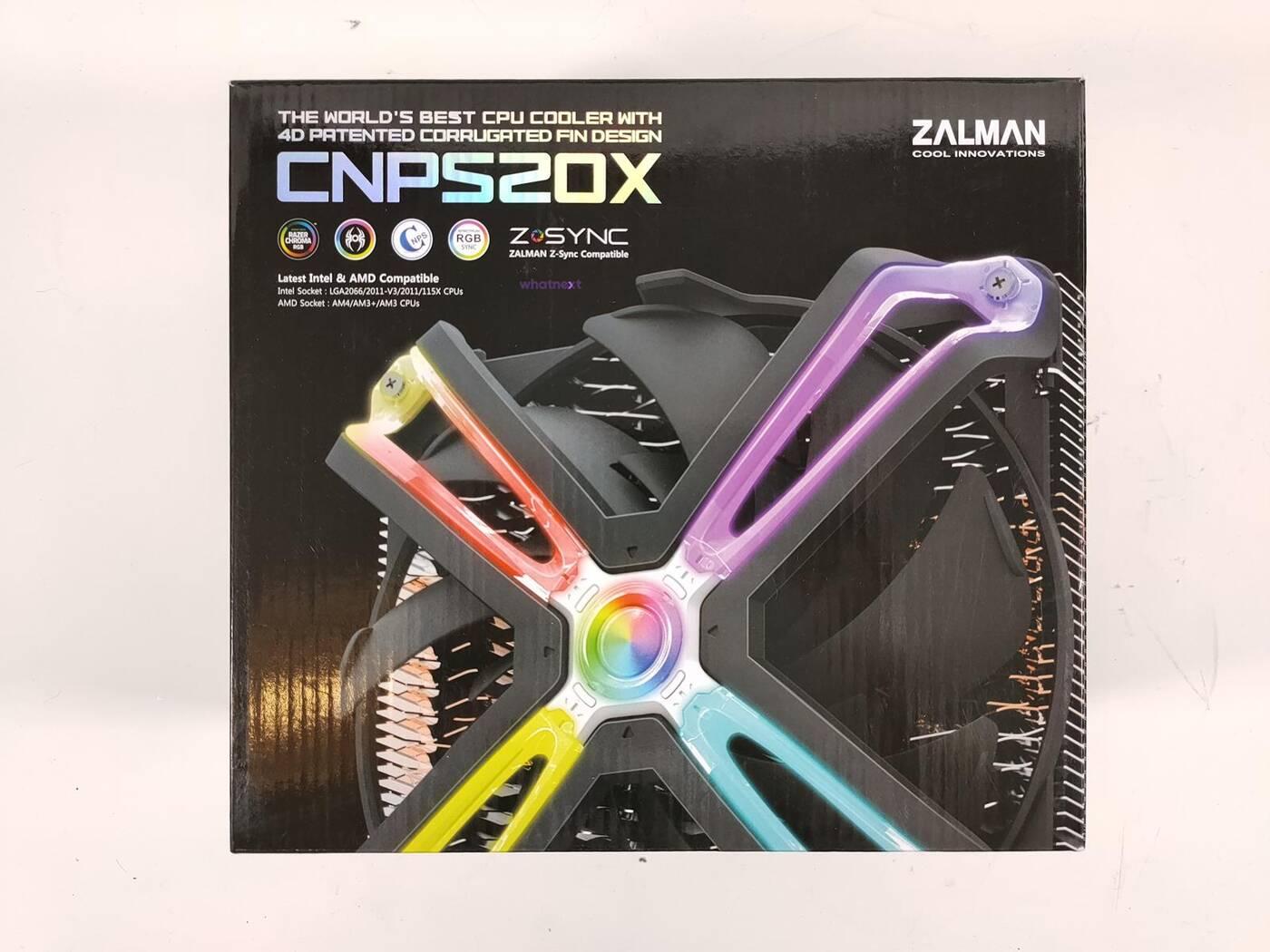 test Zalman CNPS20X, recenzja Zalman CNPS20X, review Zalman CNPS20X, opinia Zalman CNPS20X