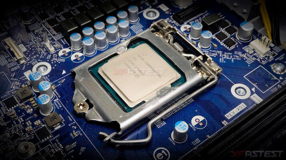 wygląd Intel Core i9-10900, design Intel Core i9-10900