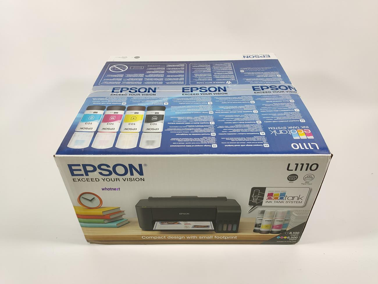test Epson EcoTank L1110, recenzja Epson EcoTank L1110, opinia Epson EcoTank L1110, review Epson EcoTank L1110, cena Epson EcoTank L1110