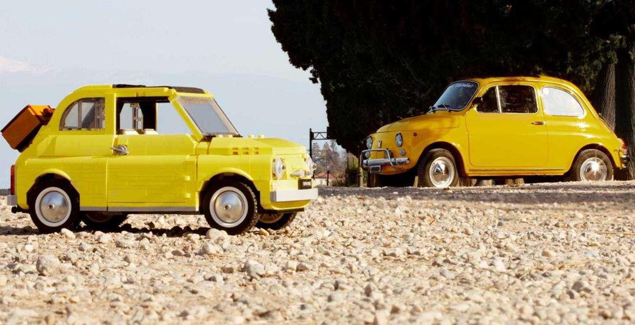Fani LEGO i Fiata 500! Możecie już kupić coś specjalnego