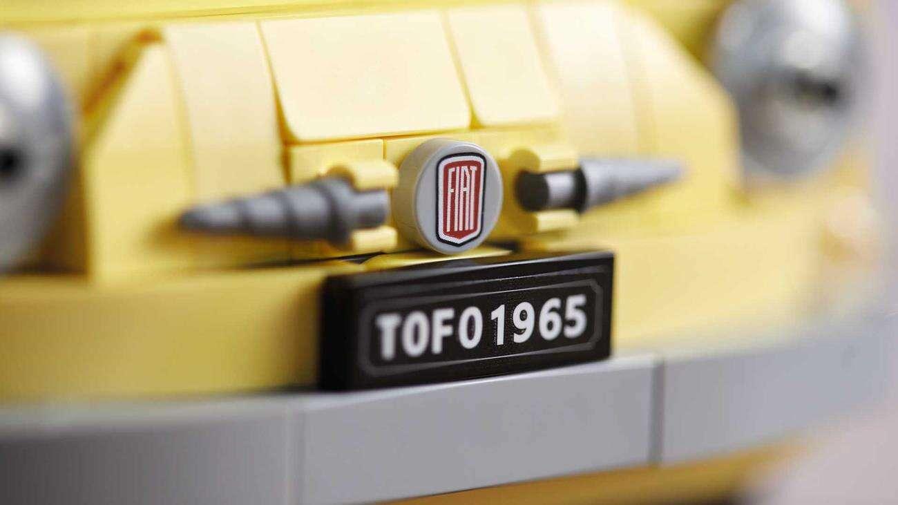 Lego Creator Expert, Fiat 500, Fiat 500 Lego, Fiat Lego