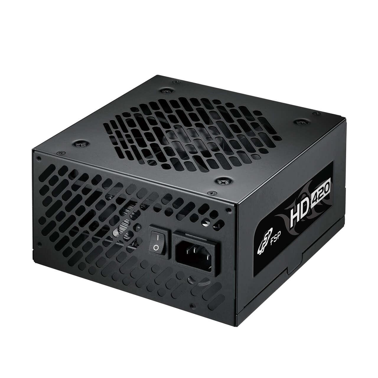 Test zasilacza FSP HD 420W