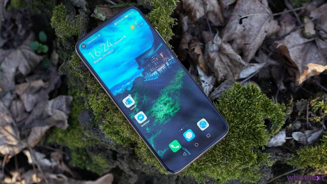 Huawei P40 Lite test recenzja opinie