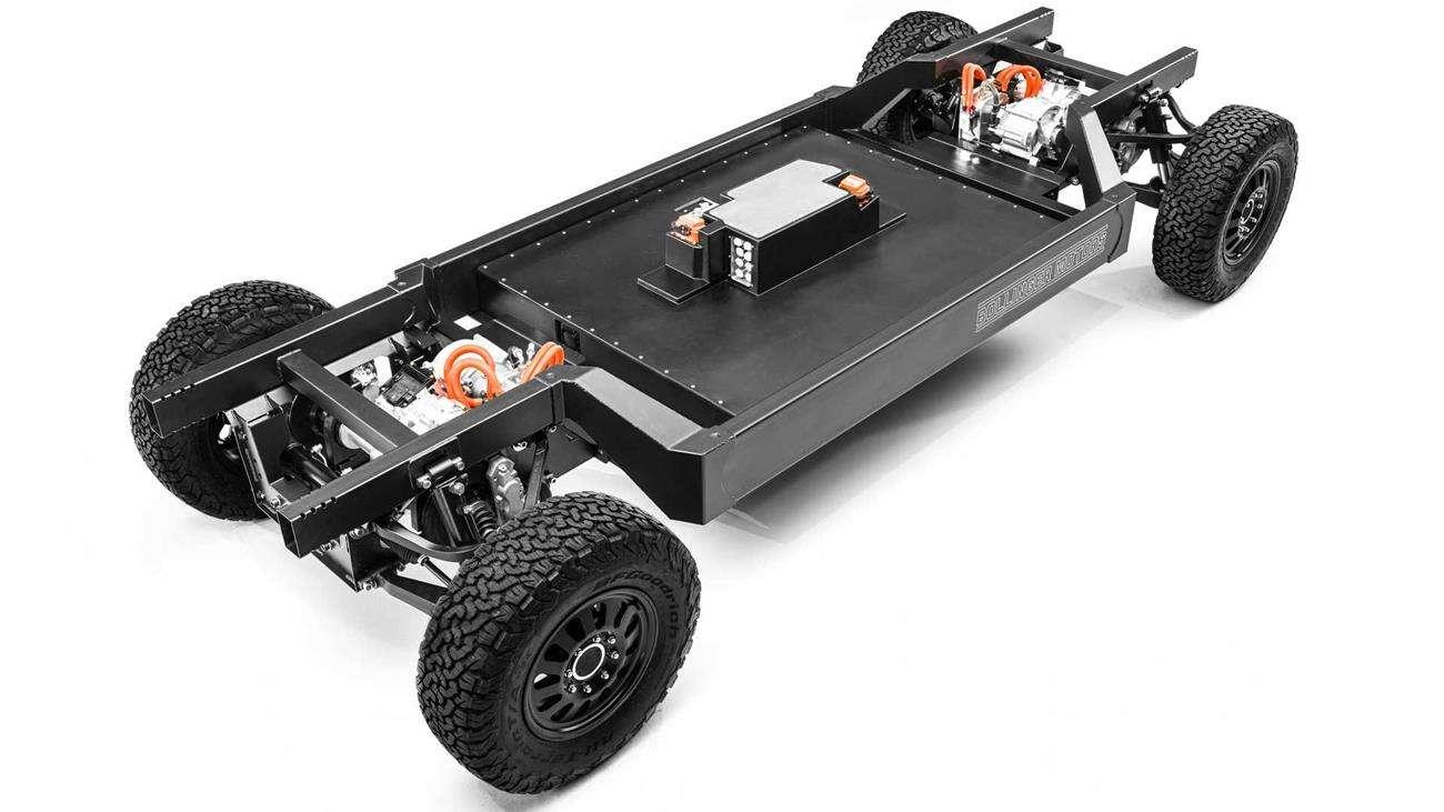 platforma elektryczna, EV, Bollinger Motors, platforma klasy 3
