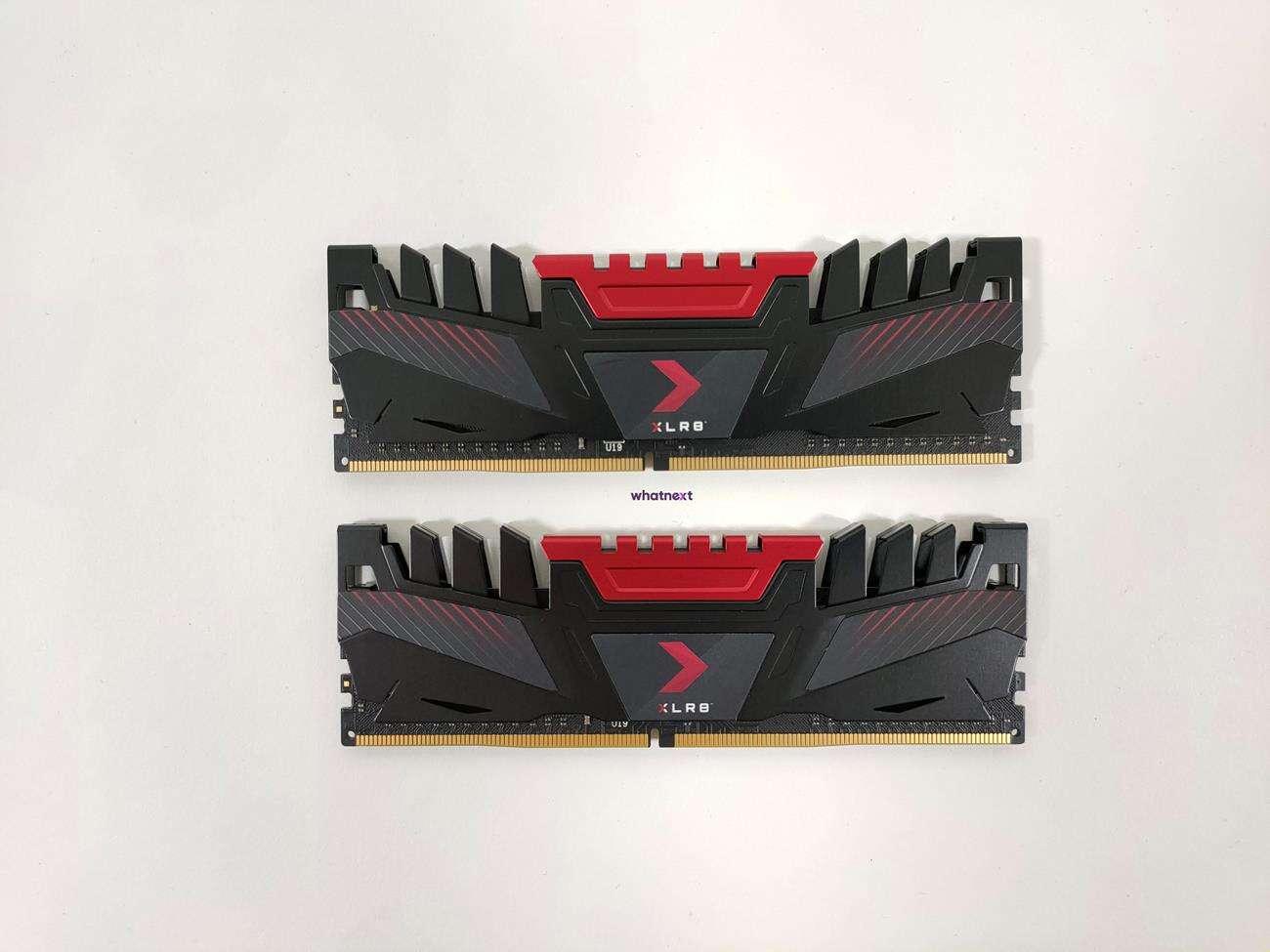 Test pamięci RAM PNY XLR8 3200 MHz CL16 2x 8 GB