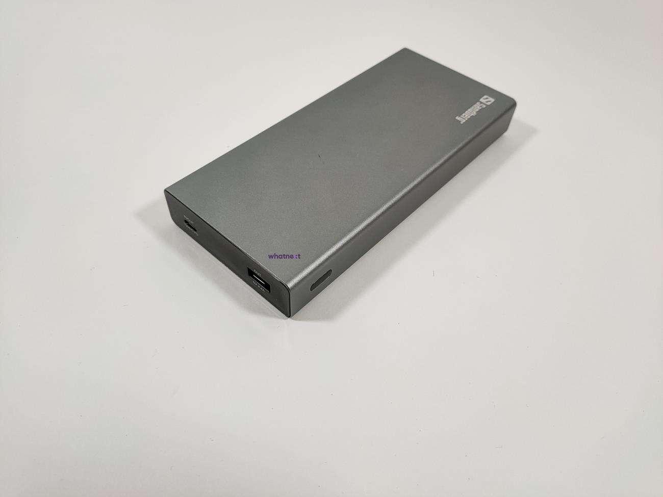 test Sandberg Powerbank USB-C PD 100W 20000 , recenzja Sandberg Powerbank USB-C PD 100W 20000 , review Sandberg Powerbank USB-C PD 100W 20000 , cena Sandberg Powerbank USB-C PD 100W 20000 , opinia Sandberg Powerbank USB-C PD 100W 20000