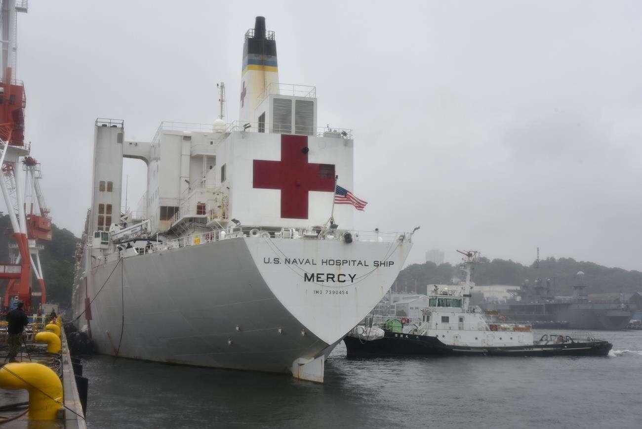 Szpitalne statki amerykańskiej marynarki pomogą w kryzysie koronawirusa