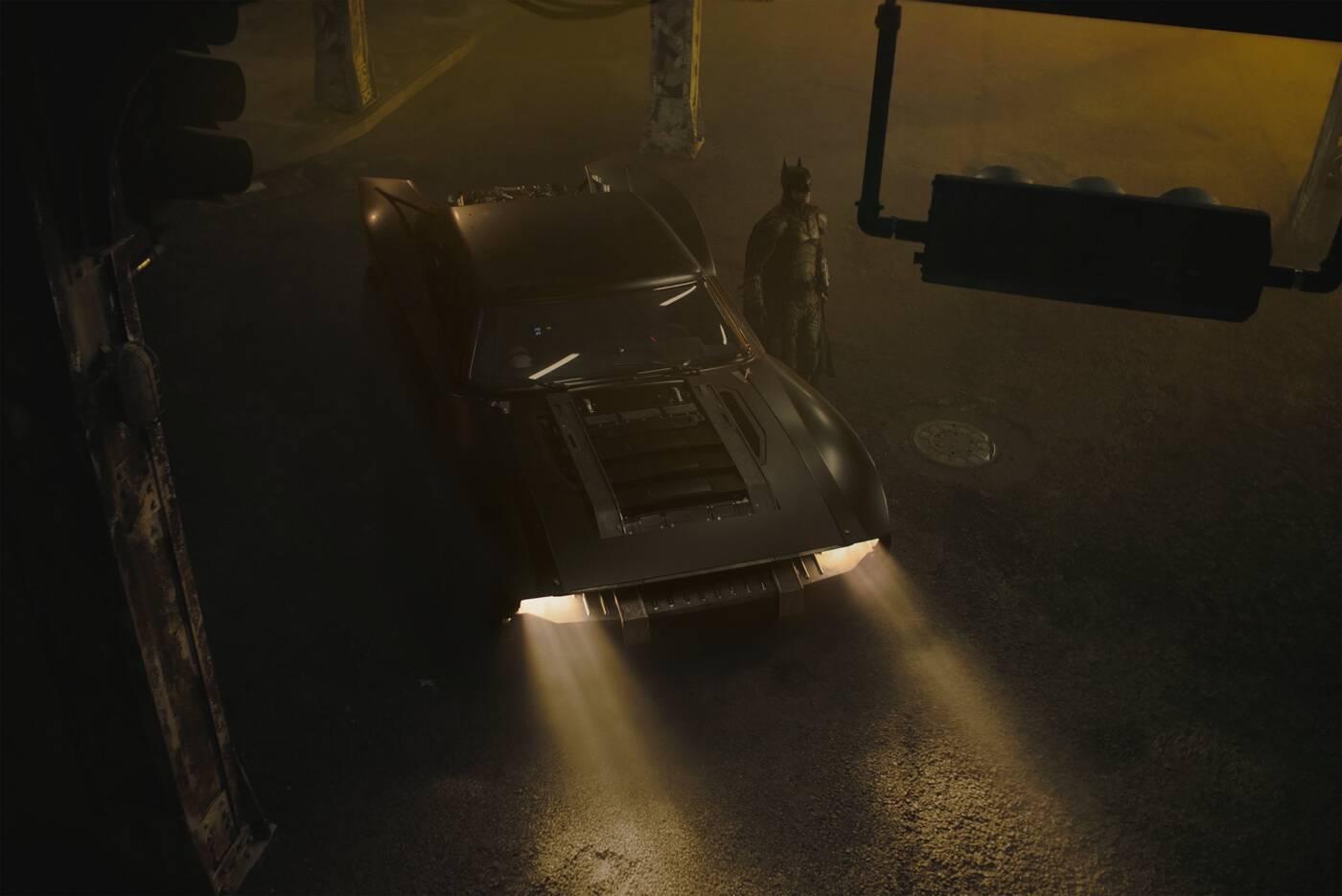 Batmobil, The Batman Batmobil, nowy Batman, Matt Reeves, The Batman premiera