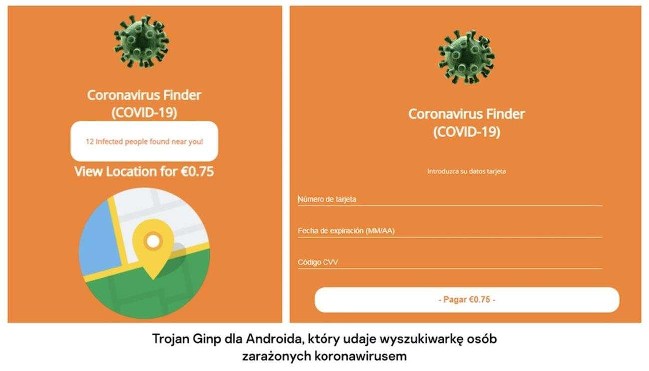 trojan ginp android, aplikacja trojan ginp