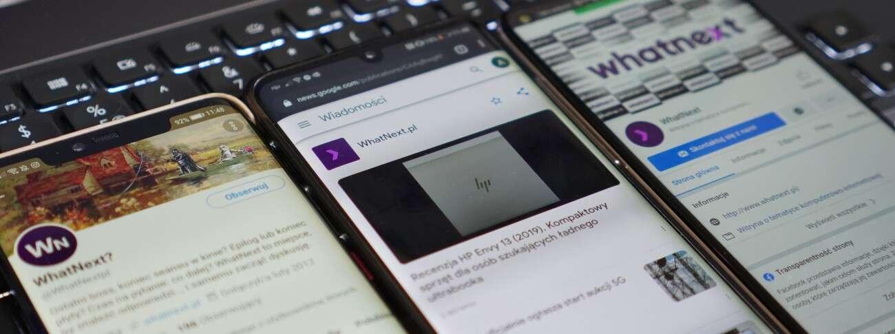 Chcesz być na bieżąco z WhatNext? Śledź nas w Google News, na Facebooku i Twitterze