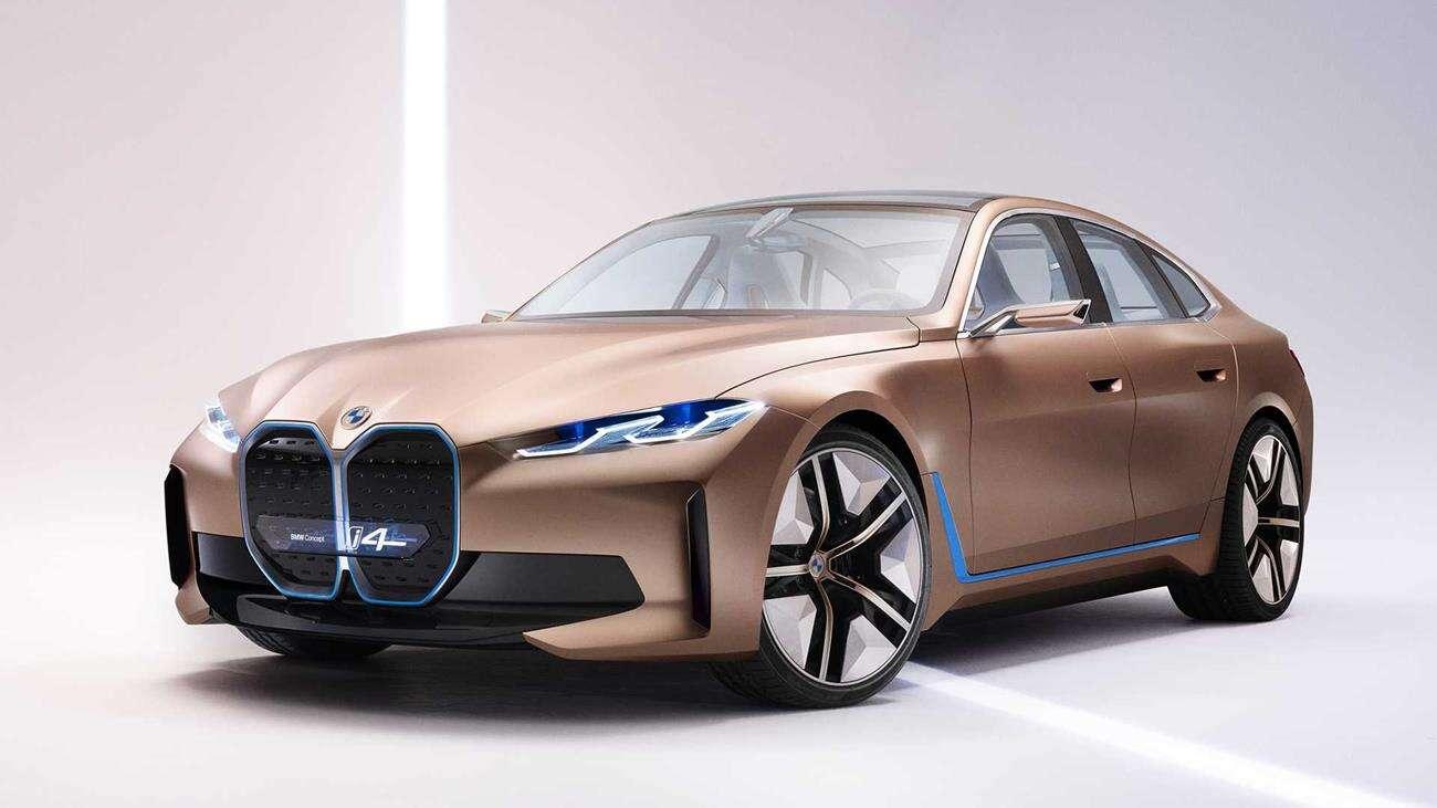 BMW i4, koncept BMW i4, i4 Concept, elektryczne BMW
