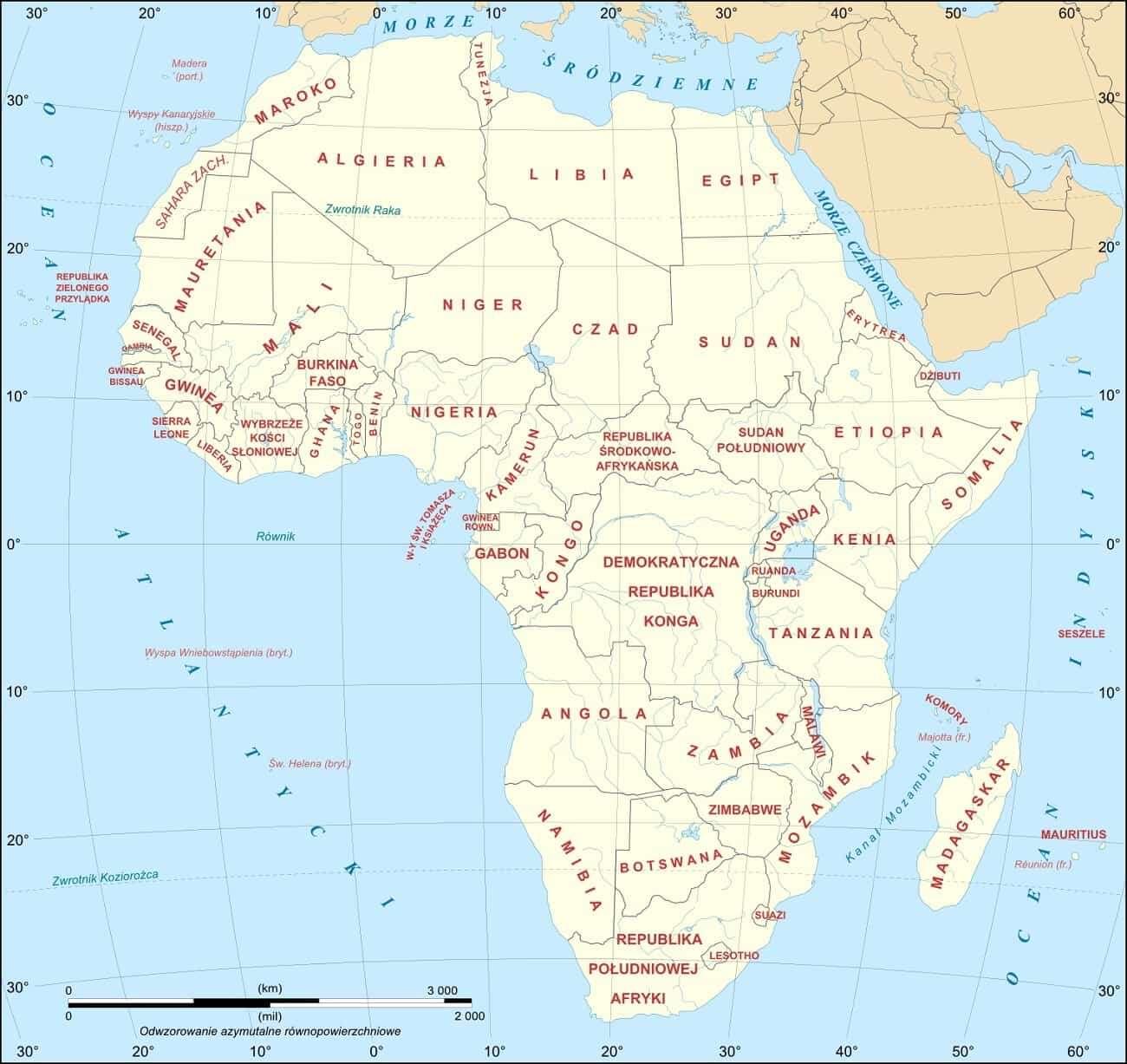 Afryka zostanie podzielona na dwie części. Kiedy się to stanie?