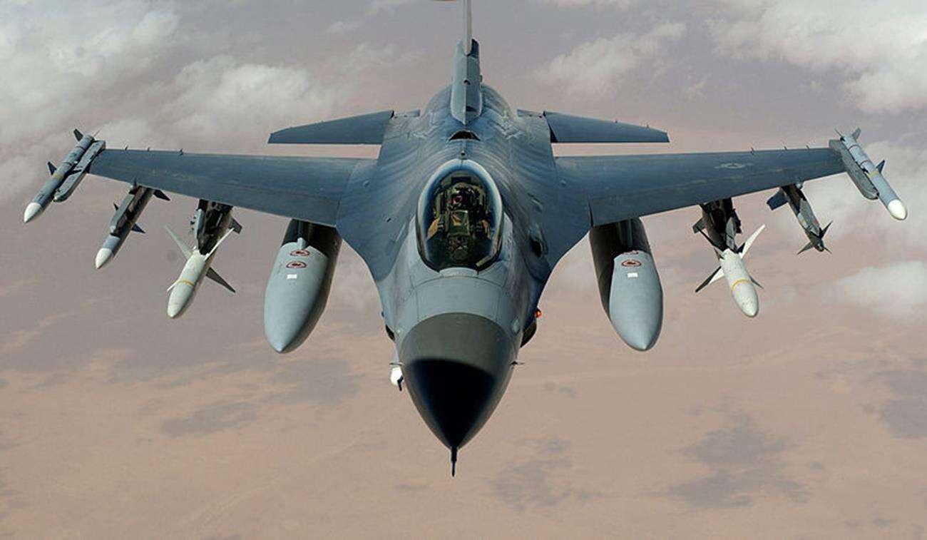 F16 bombardowanie, bombardowanie Japonii, przypadkowe wystrzelenie bomby, omyłkowe bombardowanie, omyłkjowa bomba