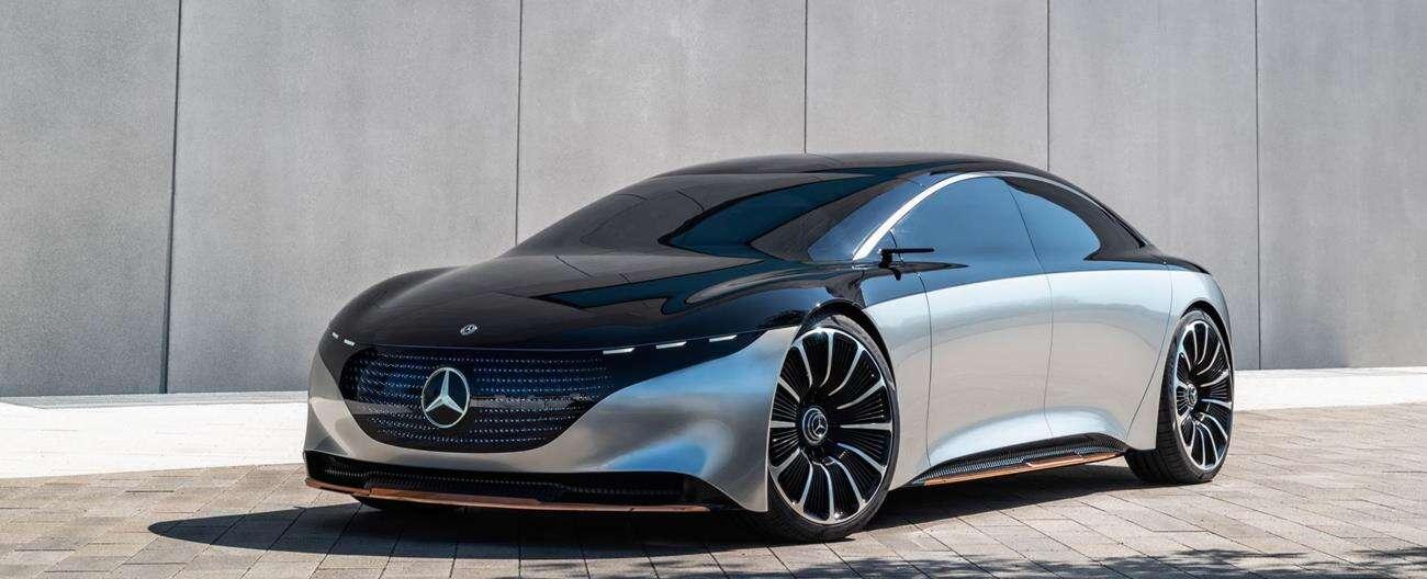 Elektryczny Mercedes EQS 2022 w ciszy zalicza Nurburgring