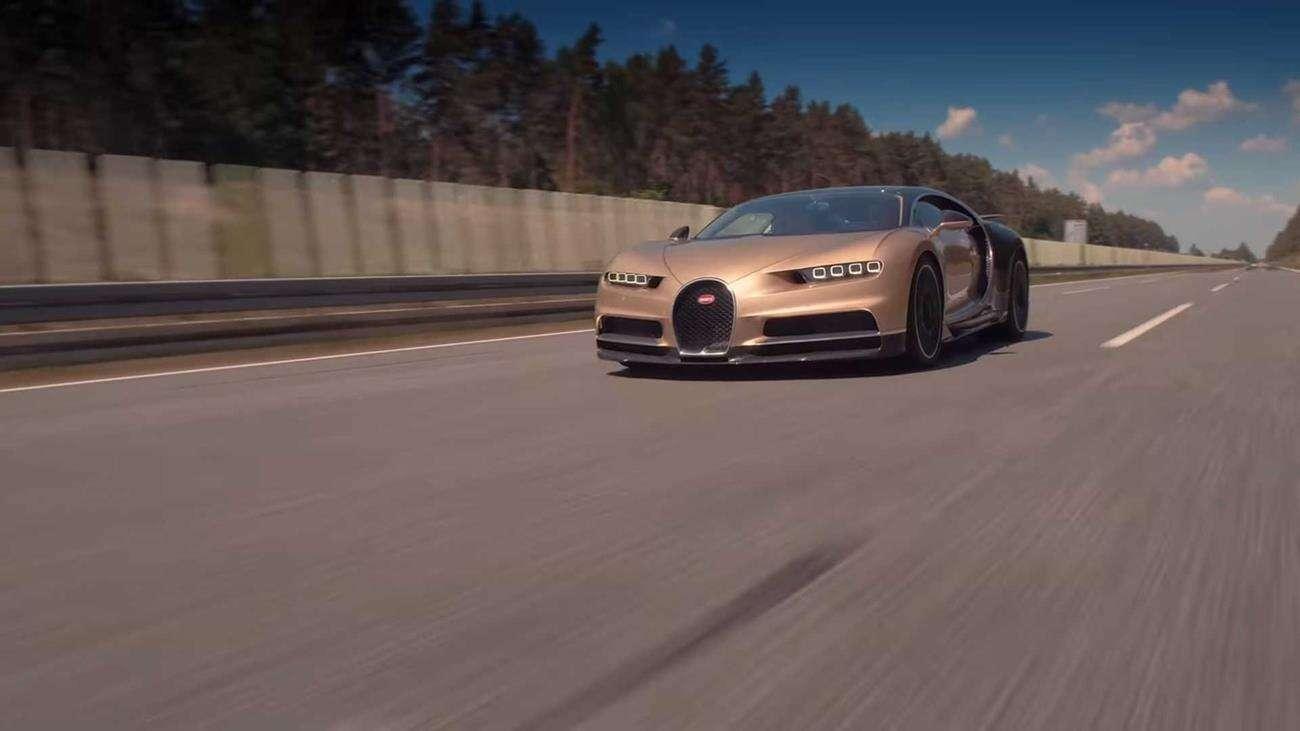 To dopiero kosztowny wypadek. Spotkanie Bugatti Chiron i Porsche 911