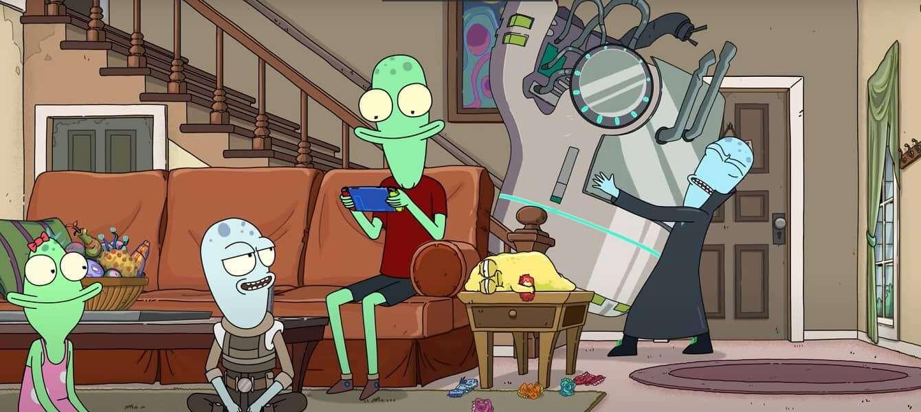 Solar Opposites – zobacz nowy zwiastun serialu twórcy Ricka i  Morty'ego