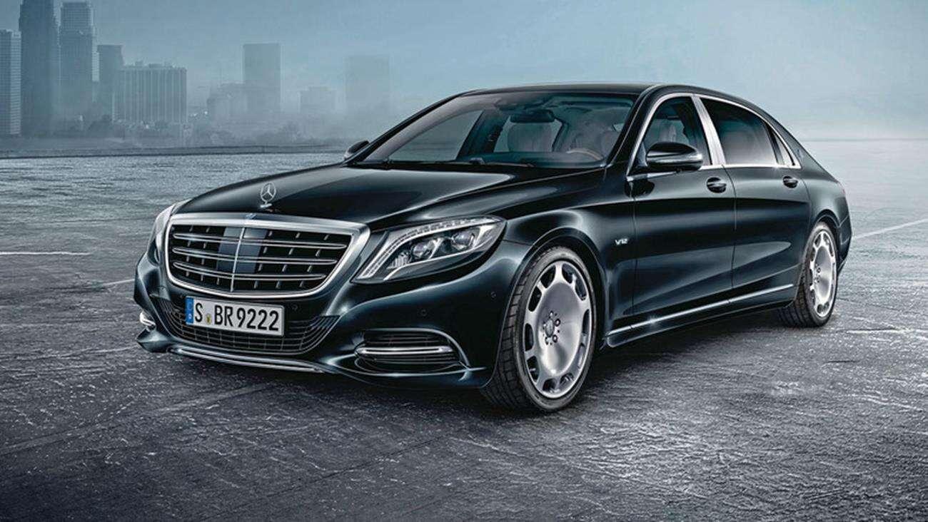 Spójrzcie na nowego Mercedesa Guard klasy S w kamuflażu