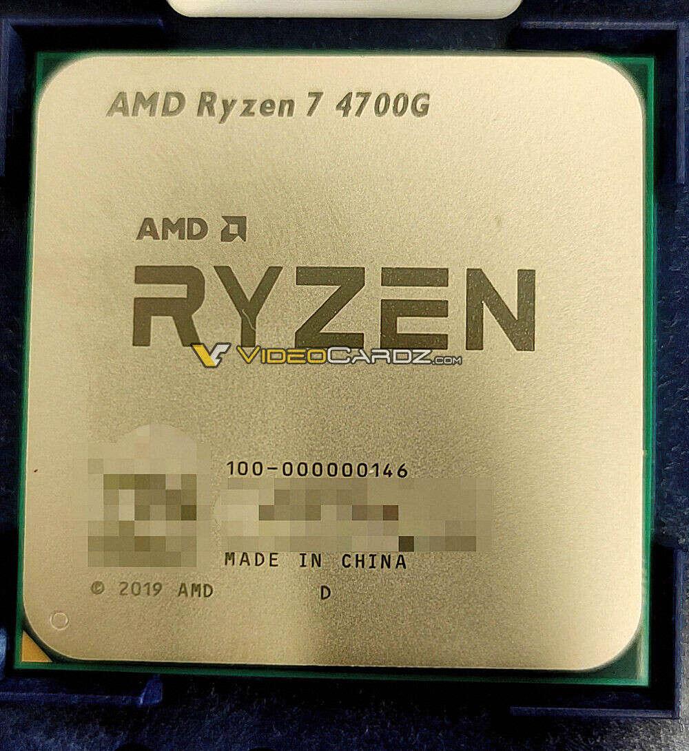 zdjęcie AMD Ryzen 7 4700G