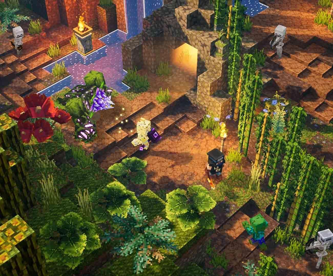 minecraft dlc, minecraft dungeons dlc