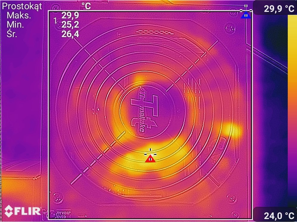 Test zasilacza Thermaltake Smart BM1 600W