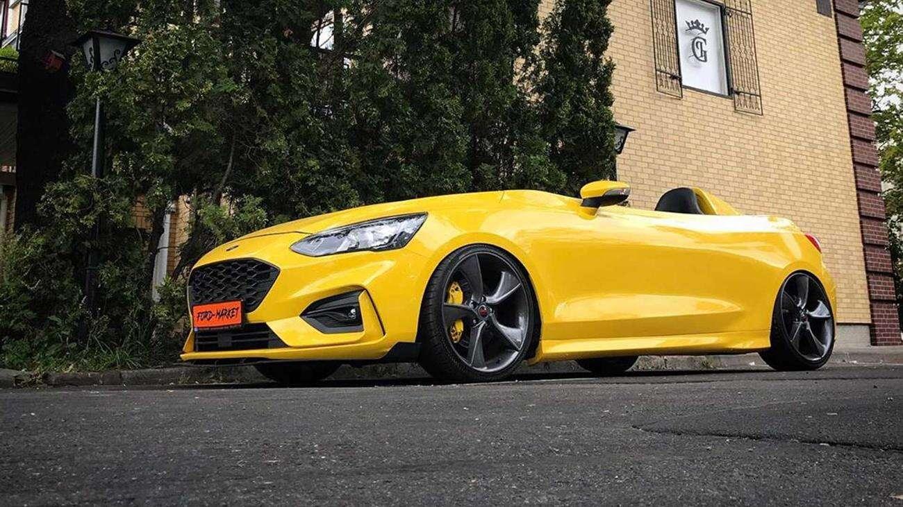 Ford Focus Speedster, czyli usunięcie dachu i szyby w rosyjskim wydaniu
