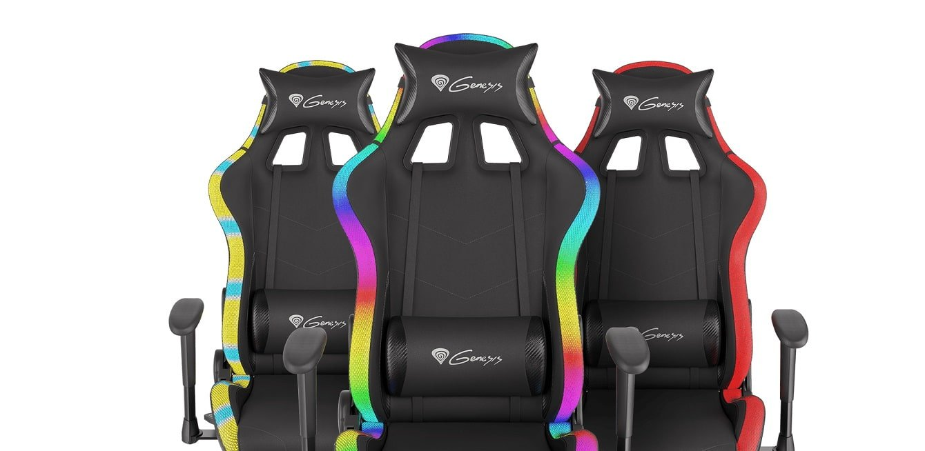 Genesis Trit 500 RGB, fotel Genesis Trit 500 RGB, Genesis Trit 500 RGB test, Genesis Trit 500 RGB opinie, Genesis Trit 500 RGB cena, fotel gamingowy Genesis Trit 500 RGB
