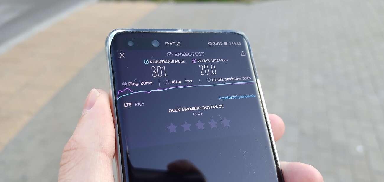 Wszyscy testują 5G Plusa, a ja sprawdziłem najszybsze w Polsce LTE
