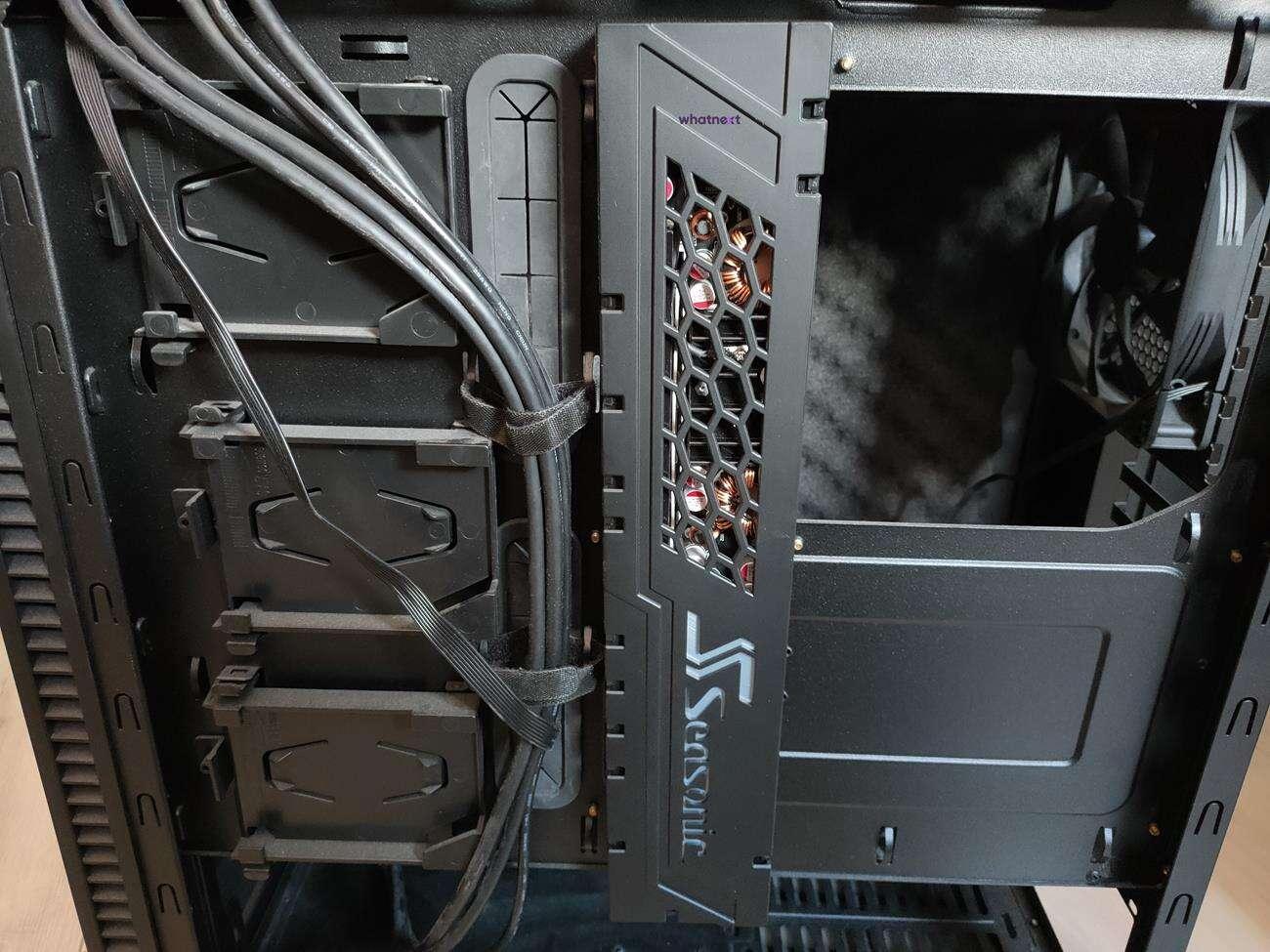 Test zasilacza Seasonic Connect 750