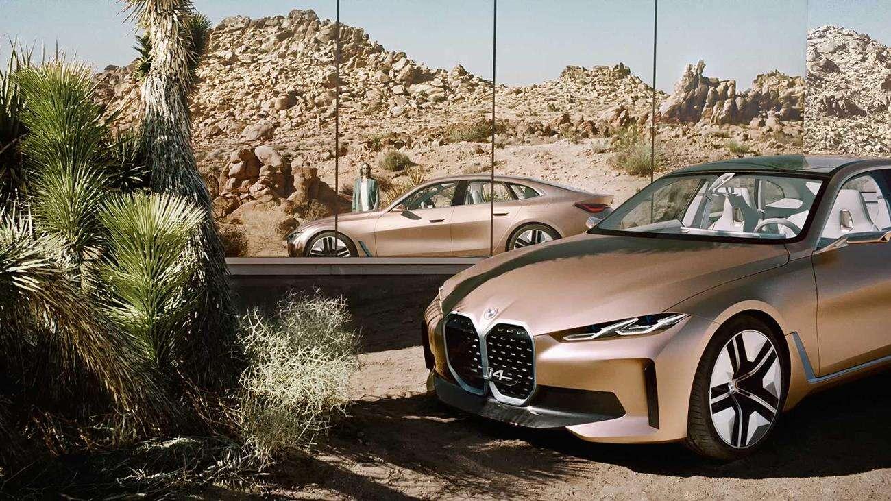 Spalinowe BMW 4 wymiękną przy elektrycznym BMW i4