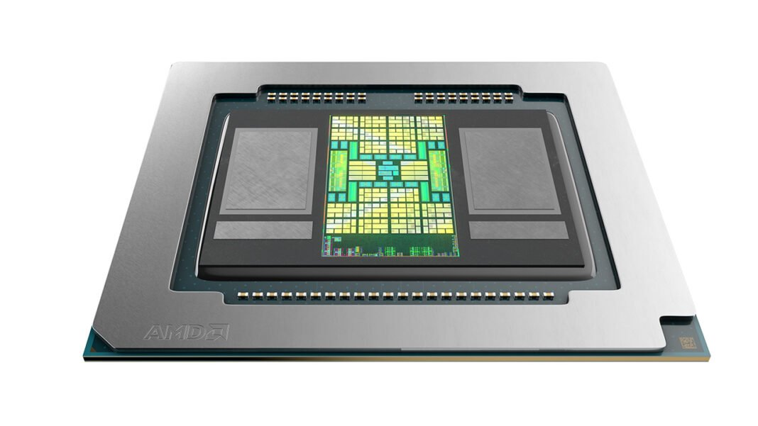 AMD Radeon Pro 5600M z pamięciami HBM2