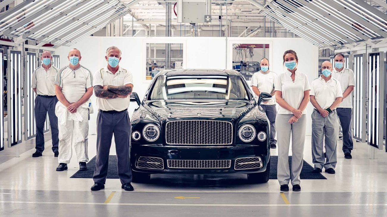 Bentley Mulsanne, ostatni Mulsanne, produkcja Bentley Mulsanne, Bentley Flying Spur