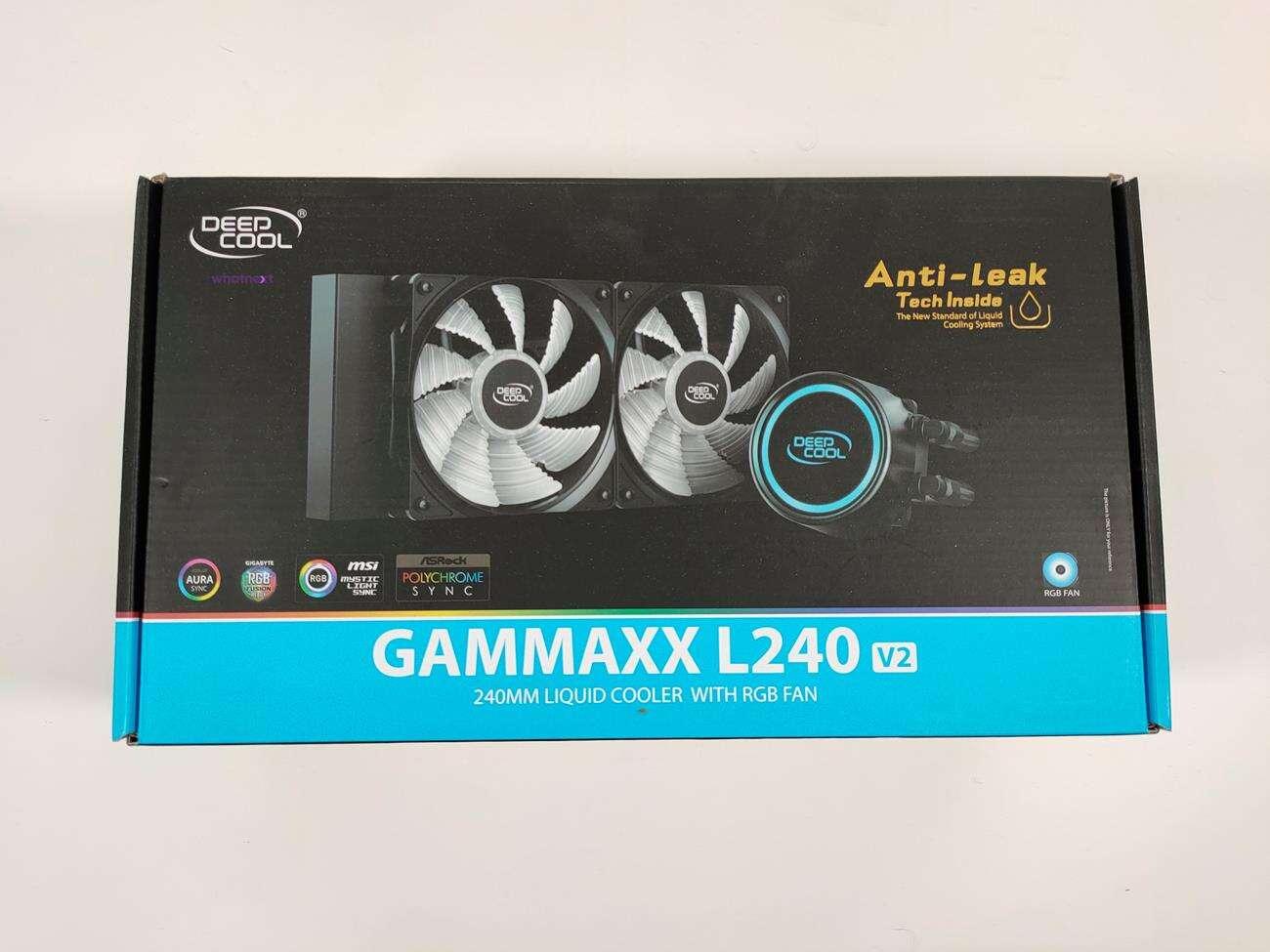test Deepcool Gammaxx L240 v2, recenzja Deepcool Gammaxx L240 v2, review Deepcool Gammaxx L240 v2, opinia Deepcool Gammaxx L240 v2