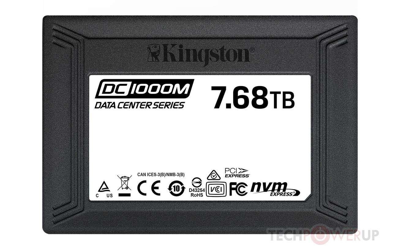 Kingston wprowadza do sklepów dysk NVMe 7,68 TB