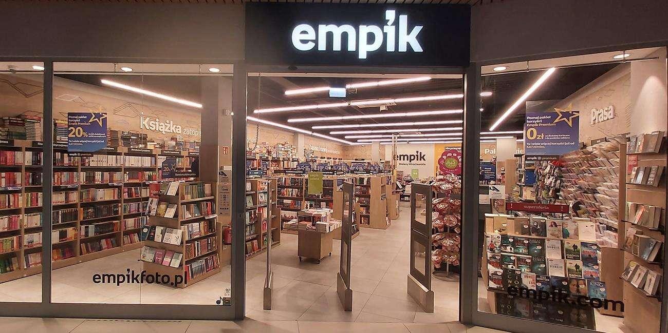 Empik wznawia działalność części salonów