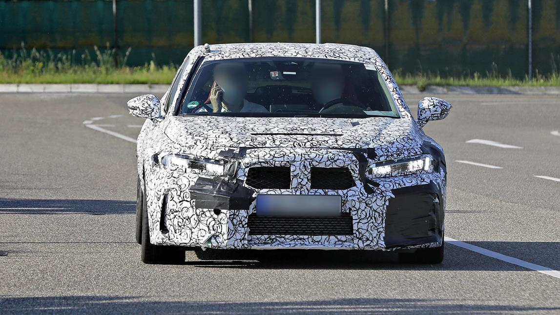 Honda Civic Type R 2022, Civic Type R 2022, Honda Type R 2022, prototyp Type R 2022