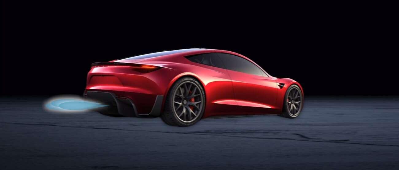Tesla Roadster, silniki odrzutowe Tesla Roadster, silniki Roadster, silniki rakietowe Tesla