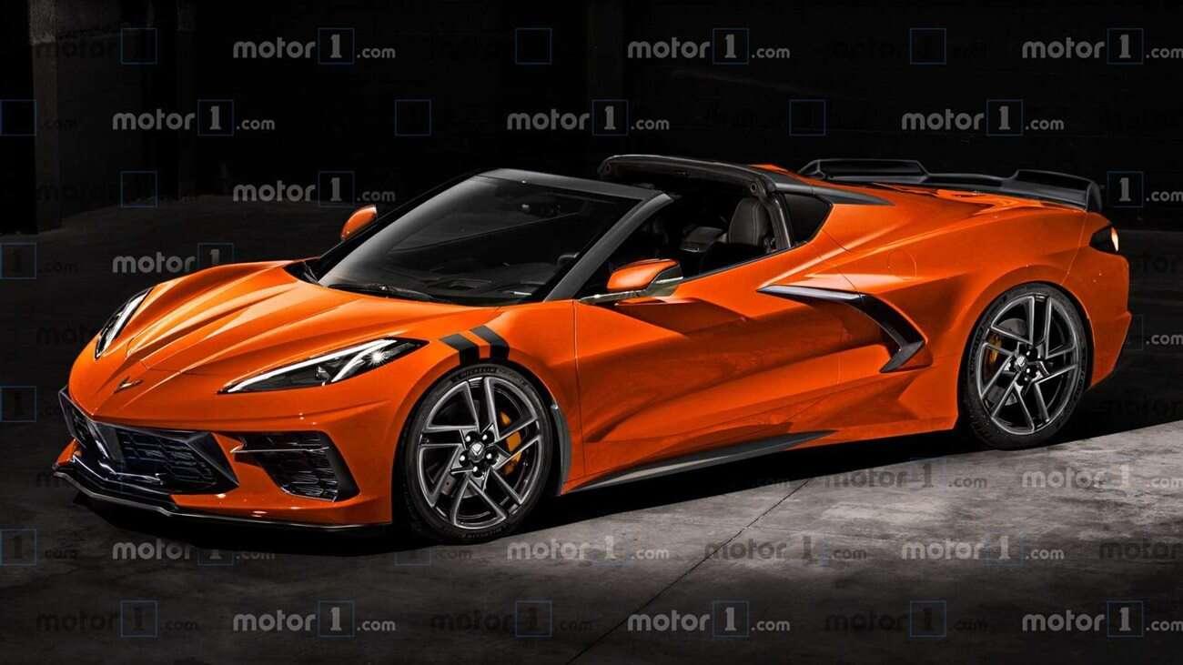 Nowa Corvette Z06 C8 spowita w kamuflażu