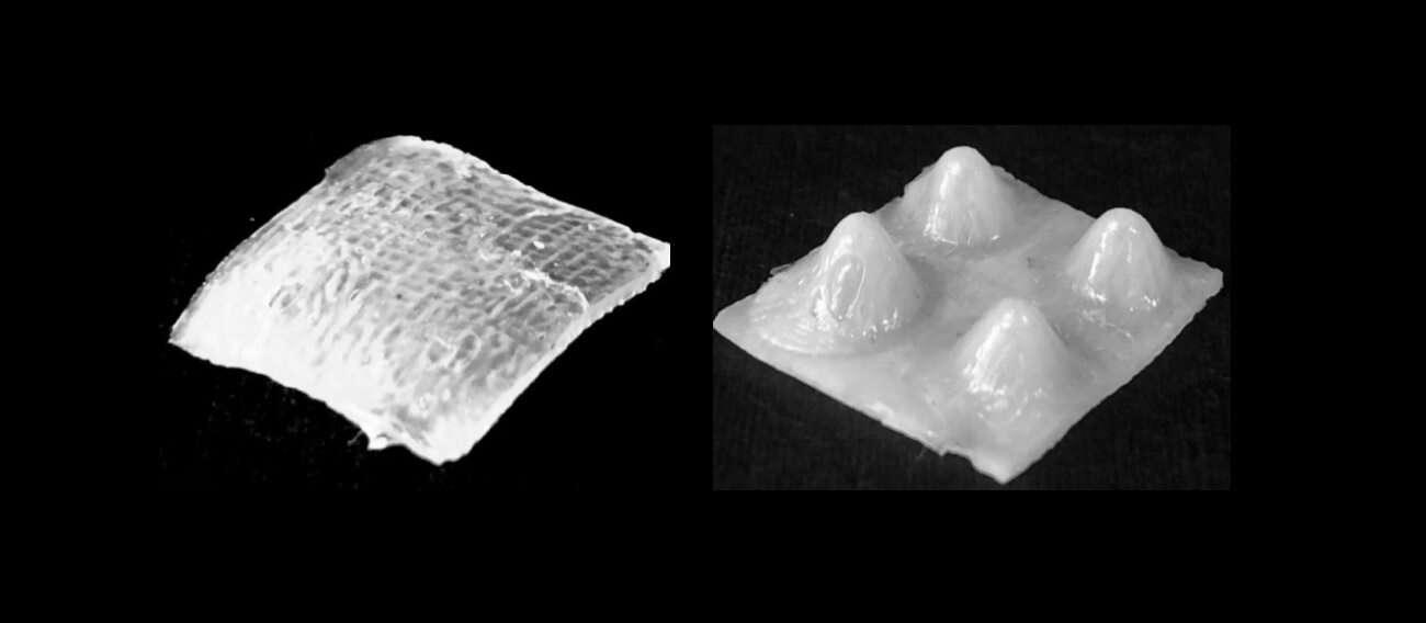 nowy druk 3D, drukowanie 3D, miękkie roboty, roboty zmieniające kształt